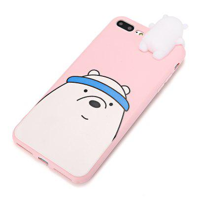 3D Solid Cartoon Bear Silicone Phone Case for iPhone 7 PlusiPhone Cases/Covers<br>3D Solid Cartoon Bear Silicone Phone Case for iPhone 7 Plus<br><br>Compatible for Apple: iPhone 7 Plus<br>Features: Anti-knock, Back Cover<br>Material: Silicone<br>Package Contents: 1 x Phone Case<br>Package size (L x W x H): 24.50 x 14.00 x 3.00 cm / 9.65 x 5.51 x 1.18 inches<br>Package weight: 0.0610 kg<br>Product size (L x W x H): 17.80 x 8.00 x 2.00 cm / 7.01 x 3.15 x 0.79 inches<br>Product weight: 0.0380 kg<br>Style: Animal, Ultra Slim, Pattern, Funny, 3D Print, Contrast Color, Cartoon, Cute