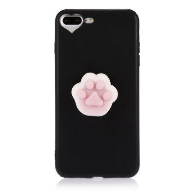 3D Solid Cat-pad Claw TPU Soft Phone Case for iPhone 7 PlusiPhone Cases/Covers<br>3D Solid Cat-pad Claw TPU Soft Phone Case for iPhone 7 Plus<br><br>Compatible for Apple: iPhone 7 Plus<br>Features: Anti-knock, Back Cover<br>Material: TPU<br>Package Contents: 1 x Phone Case<br>Package size (L x W x H): 21.50 x 13.50 x 3.20 cm / 8.46 x 5.31 x 1.26 inches<br>Package weight: 0.0600 kg<br>Product size (L x W x H): 16.00 x 8.00 x 2.20 cm / 6.3 x 3.15 x 0.87 inches<br>Product weight: 0.0350 kg<br>Style: Cute, Cartoon, Pattern, Funny