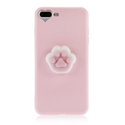 3D Solid Cat-pad Claw TPU Soft Phone Case for iPhone 7 PlusiPhone Cases/Covers<br>3D Solid Cat-pad Claw TPU Soft Phone Case for iPhone 7 Plus<br><br>Compatible for Apple: iPhone 7 Plus<br>Features: Anti-knock, Back Cover<br>Material: TPU<br>Package Contents: 1 x Phone Case, 1 x Phone Case<br>Package size (L x W x H): 21.50 x 13.50 x 3.20 cm / 8.46 x 5.31 x 1.26 inches, 21.50 x 13.50 x 3.20 cm / 8.46 x 5.31 x 1.26 inches<br>Package weight: 0.0600 kg, 0.0600 kg<br>Product size (L x W x H): 16.00 x 8.00 x 2.20 cm / 6.3 x 3.15 x 0.87 inches, 16.00 x 8.00 x 2.20 cm / 6.3 x 3.15 x 0.87 inches<br>Product weight: 0.0350 kg<br>Style: Cute, Funny, Pattern, Cartoon