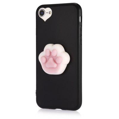 3D Solid Cat-pad Claw TPU Soft Phone Case for iPhone 7