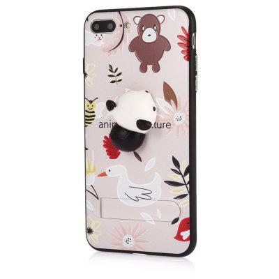 3D Solid Cat-pad Phone Case Stand Cover for iPhone 7 Plus