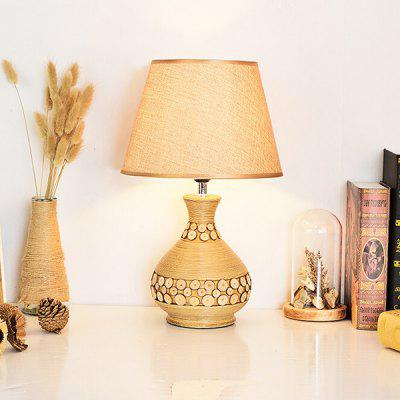 Nordic Ceramics Table Lamp 220VTable Lamps<br>Nordic Ceramics Table Lamp 220V<br><br>Available Color: White<br>Bulb Base Type: E27<br>Material: Ceramic, Cloth<br>Package Contents: 1 x Light, 1 x Assembly Parts<br>Package size (L x W x H): 35.00 x 35.00 x 45.00 cm / 13.78 x 13.78 x 17.72 inches<br>Package weight: 2.5300 kg<br>Powered Source: AC<br>Product size (L x W x H): 25.00 x 25.00 x 41.00 cm / 9.84 x 9.84 x 16.14 inches<br>Product weight: 2.0000 kg<br>Suitable for: Home Decoration, Home use