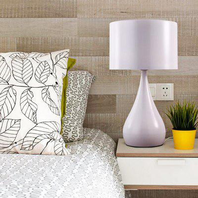 Iron Aluminum Bedroom Living Room Table Lamp 220VTable Lamps<br>Iron Aluminum Bedroom Living Room Table Lamp 220V<br><br>Available Color: White<br>Bulb Base Type: E27<br>Package Contents: 1 x Light, 1 x Assembly Parts<br>Package size (L x W x H): 30.00 x 30.00 x 45.00 cm / 11.81 x 11.81 x 17.72 inches<br>Package weight: 4.0300 kg<br>Powered Source: AC<br>Product size (L x W x H): 25.00 x 25.00 x 35.00 cm / 9.84 x 9.84 x 13.78 inches<br>Product weight: 3.0000 kg<br>Suitable for: Home Decoration, Home use