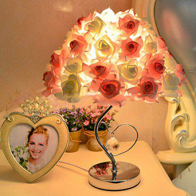 E27 Novel Rose Shape Wedding Desk Lamp 220VTable Lamps<br>E27 Novel Rose Shape Wedding Desk Lamp 220V<br><br>Available Color: Pink,Yellow<br>Bulb Base Type: E27<br>Input Voltage: 220V<br>Material: Cloth, Iron<br>Package Contents: 1 x Desk Lamp<br>Package size (L x W x H): 42.00 x 42.00 x 50.00 cm / 16.54 x 16.54 x 19.69 inches<br>Package weight: 4.0300 kg<br>Powered Source: AC<br>Product size (L x W x H): 32.00 x 32.00 x 44.00 cm / 12.6 x 12.6 x 17.32 inches<br>Product weight: 3.0000 kg<br>Suitable for: Home use, Home Decoration