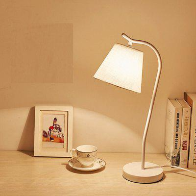 E27 Simple Modern Eye-protection Table Lamp 220VTable Lamps<br>E27 Simple Modern Eye-protection Table Lamp 220V<br><br>Available Color: Off-white<br>Bulb Base Type: E27<br>Material: Fabric, Hardware<br>Package Contents: 1 x Table Lamp, 1 x Installation Component Kit<br>Package size (L x W x H): 20.00 x 30.00 x 60.00 cm / 7.87 x 11.81 x 23.62 inches<br>Package weight: 6.0500 kg<br>Product size (L x W x H): 15.00 x 24.00 x 53.00 cm / 5.91 x 9.45 x 20.87 inches<br>Product weight: 5.0000 kg<br>Suitable for: Home use, Home Decoration, Office