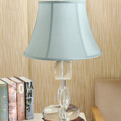 American Simple Crystal Fabric Table Lamp 220VTable Lamps<br>American Simple Crystal Fabric Table Lamp 220V<br><br>Available Color: Blue<br>Bulb Base Type: E27<br>Material: Cloth, Crystal, Hardware<br>Package Contents: 1 x Light, 1 x Assembly Parts<br>Package size (L x W x H): 45.00 x 45.00 x 60.00 cm / 17.72 x 17.72 x 23.62 inches<br>Package weight: 6.0300 kg<br>Powered Source: AC<br>Product size (L x W x H): 35.00 x 35.00 x 55.00 cm / 13.78 x 13.78 x 21.65 inches<br>Product weight: 5.0000 kg<br>Suitable for: Home use, Home Decoration
