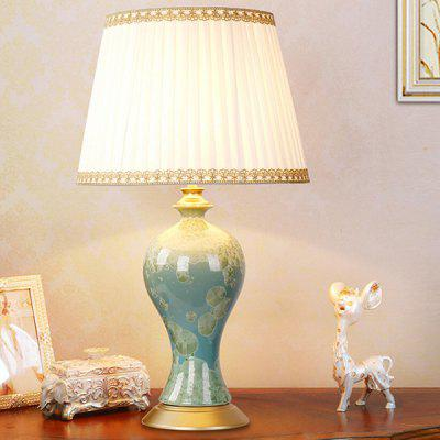 E27 Classic Ceramic Chinese Style Desk Lamp 220VTable Lamps<br>E27 Classic Ceramic Chinese Style Desk Lamp 220V<br><br>Available Color: Multi-color<br>Bulb Base Type: E27<br>Material: Ceramic, Fabric<br>Package Contents: 1 x Table Lamp, 1 x Installation Component Kit<br>Package size (L x W x H): 45.00 x 45.00 x 71.00 cm / 17.72 x 17.72 x 27.95 inches<br>Package weight: 5.0500 kg<br>Product size (L x W x H): 35.00 x 35.00 x 61.00 cm / 13.78 x 13.78 x 24.02 inches<br>Product weight: 4.0000 kg<br>Suitable for: Home Decoration, Home use
