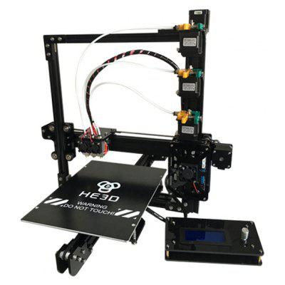 He3D EI3 Triple Extruders Multi-material Printing 3D Printer DIY Kit