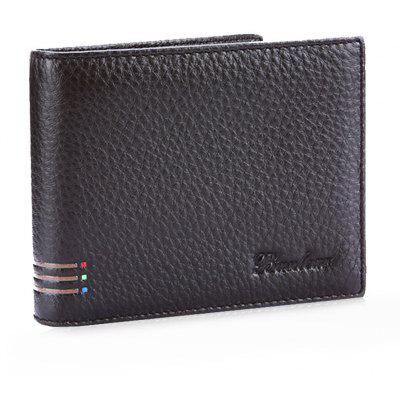 Banlear Letter Embellishment Men Wallet