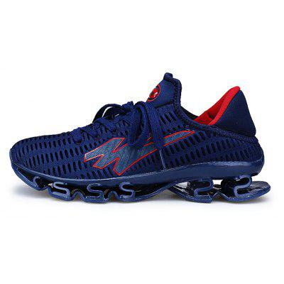 Male Lace Up Slip Resistance Outdoor Tank SneakersMen's Sneakers<br>Male Lace Up Slip Resistance Outdoor Tank Sneakers<br><br>Closure Type: Lace-Up<br>Contents: 1 x Pair of Shoes<br>Decoration: Weave<br>Function: Slip Resistant<br>Materials: Rubber, TPR, Woven Fabric, Plastic<br>Occasion: Sports<br>Outsole Material: TPR<br>Package Size ( L x W x H ): 32.00 x 20.00 x 15.00 cm / 12.6 x 7.87 x 5.91 inches<br>Seasons: Autumn,Spring<br>Style: Modern, Leisure, Fashion, Comfortable, Casual<br>Toe Shape: Round Toe<br>Type: Sports Shoes<br>Upper Material: Woven Fabric