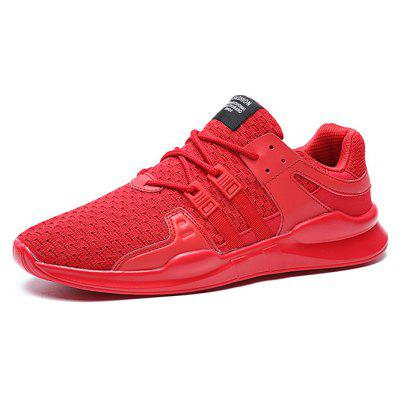 Male Knitted Lace Up Light Athletic ShoesAthletic Shoes<br>Male Knitted Lace Up Light Athletic Shoes<br><br>Closure Type: Lace-Up<br>Contents: 1 x Pair of Shoes<br>Decoration: Weave<br>Materials: PU, Woven Fabric<br>Occasion: Sports, Running, Outdoor Clothing, Daily, Casual<br>Outsole Material: PU<br>Package Size ( L x W x H ): 32.00 x 18.00 x 15.00 cm / 12.6 x 7.09 x 5.91 inches<br>Seasons: Autumn,Spring<br>Style: Casual<br>Toe Shape: Round Toe<br>Type: Sports Shoes<br>Upper Material: Woven Fabric