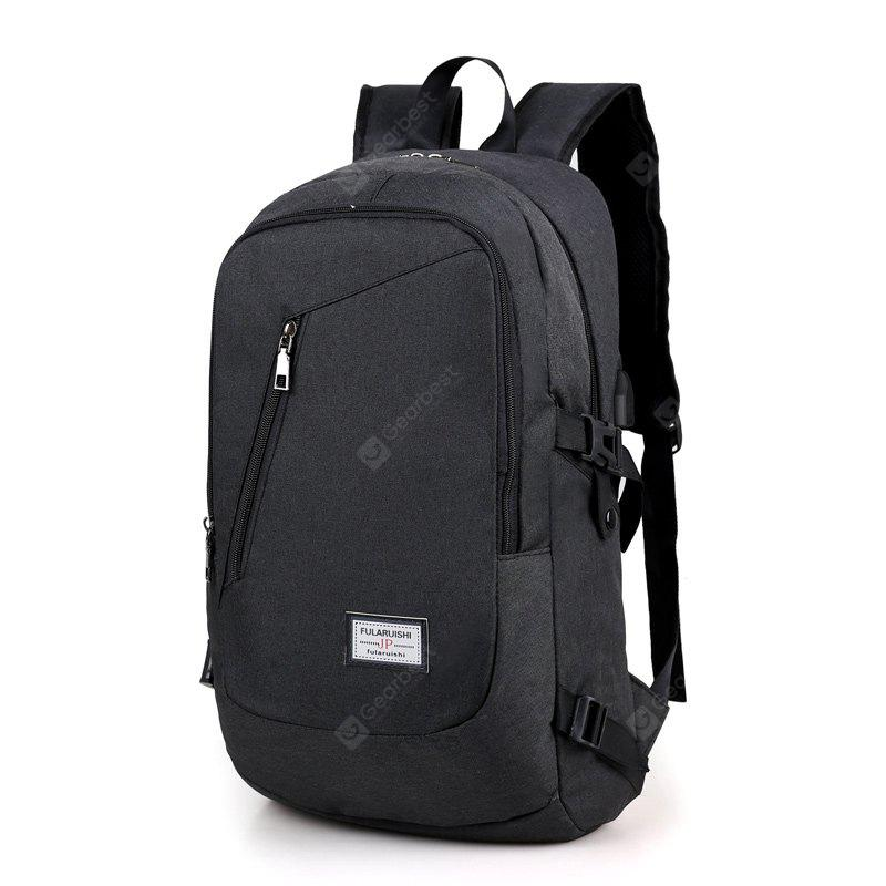 Leisure Water-resistant Laptop Backpack with USB Port