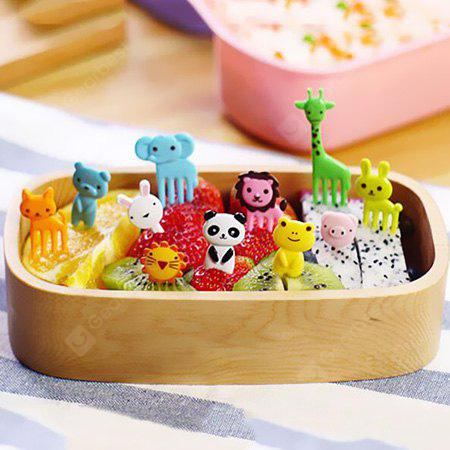 Animal Food Fruit Picks Forks Lunch Box Accessory Decor