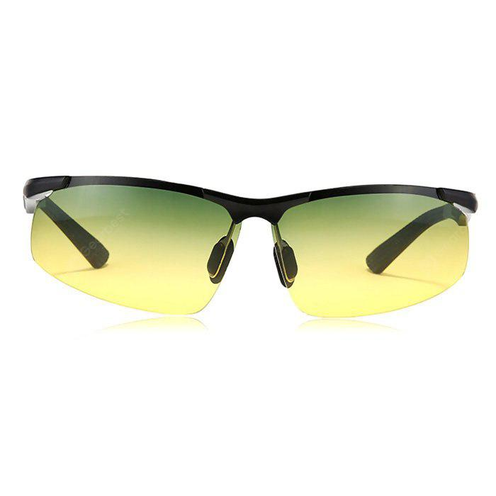 BLACK 3009 Night Vision Polarized Lens Driving Cycling Glasses