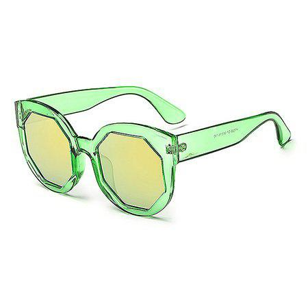 GREEN Candy Color Unisex Sunglasses