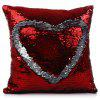 Magic Reversible Sequins Mermaid Pillow Cases - RED