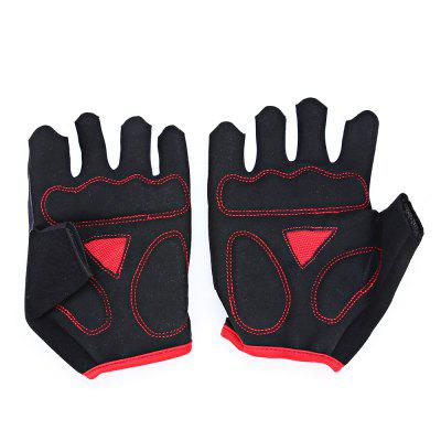 MOKE Pair of Skull Finger Pattern Half-finger Cycling GlovesCycling Gloves<br>MOKE Pair of Skull Finger Pattern Half-finger Cycling Gloves<br><br>Brand: MOKE<br>Features: Breathable, Quick Dry, Shock Absorption, Skid Resistance<br>Gender: Unisex<br>Package Contents: 1 x MOKE Pair of Cycling Gloves<br>Package size (L x W x H): 12.00 x 10.00 x 3.00 cm / 4.72 x 3.94 x 1.18 inches<br>Package weight: 0.0900 kg<br>Product weight: 0.0500 kg<br>Size: L,M,XL<br>Type: Half-finger