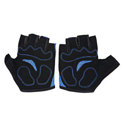 MOKE Pair of  Anti-slip Shockproof Half-finger Cycling GlovesCycling Gloves<br>MOKE Pair of  Anti-slip Shockproof Half-finger Cycling Gloves<br><br>Brand: MOKE<br>Features: Breathable, Quick Dry, Shock Absorption, Skid Resistance<br>Gender: Unisex<br>Package Contents: 1 x MOKE Pair of Cycling Gloves<br>Package size (L x W x H): 12.00 x 9.00 x 2.00 cm / 4.72 x 3.54 x 0.79 inches<br>Package weight: 0.0900 kg<br>Product weight: 0.0500 kg<br>Size: L,M,XL<br>Type: Half-finger