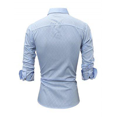 Simple Casual Fashion Long Sleeve ShirtMens Shirts<br>Simple Casual Fashion Long Sleeve Shirt<br><br>Material: Cotton<br>Package Contents: 1 x Men Shirt<br>Package size: 35.00 x 25.00 x 2.00 cm / 13.78 x 9.84 x 0.79 inches<br>Package weight: 0.2700 kg<br>Product weight: 0.2300 kg