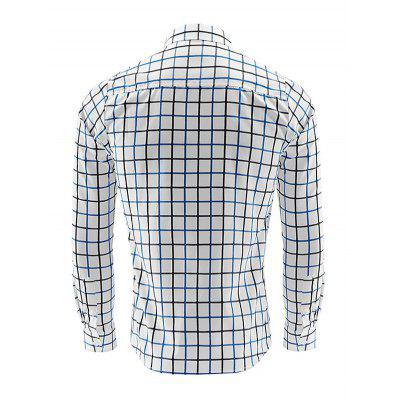 Business Classic Long Sleeve Checked ShirtMens Shirts<br>Business Classic Long Sleeve Checked Shirt<br><br>Material: Cotton Blends<br>Package Contents: 1 x Men Shirt<br>Package size: 35.00 x 25.00 x 2.00 cm / 13.78 x 9.84 x 0.79 inches<br>Package weight: 0.2400 kg<br>Product weight: 0.2000 kg