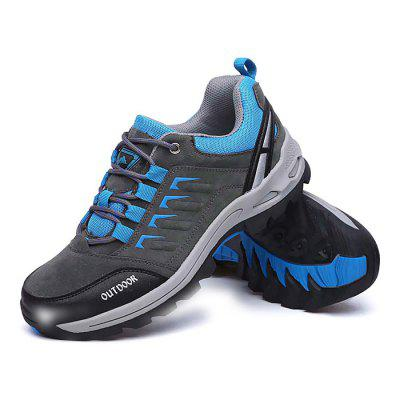 Male Athletic Lace Up Soft Light Outdoor Hiking ShoesAthletic Shoes<br>Male Athletic Lace Up Soft Light Outdoor Hiking Shoes<br><br>Closure Type: Lace-Up<br>Contents: 1 x Pair of Shoes<br>Function: Slip Resistant<br>Materials: Rubber, Suede<br>Occasion: Sports, Running, Outdoor Clothing, Holiday, Casual<br>Outsole Material: Rubber<br>Package Size ( L x W x H ): 33.00 x 22.00 x 11.00 cm / 12.99 x 8.66 x 4.33 inches<br>Package Weights: 0.77kg<br>Seasons: Autumn,Spring<br>Style: Leisure, Comfortable, Casual<br>Toe Shape: Round Toe<br>Type: Hiking Shoes<br>Upper Material: Suede