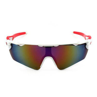 Buy WHITE CTSmart 9275 Fishing Climbing Cycling Glasses for $6.20 in GearBest store