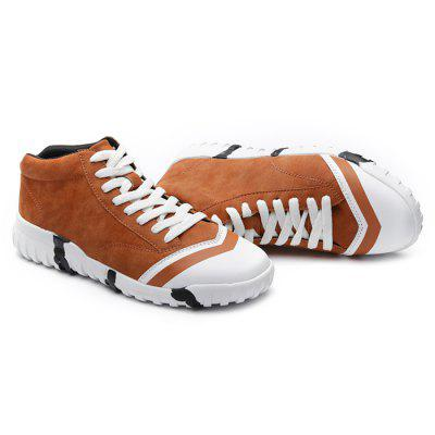 Male Slip Resistance Lace Up Suede Leisure ShoesCasual Shoes<br>Male Slip Resistance Lace Up Suede Leisure Shoes<br><br>Closure Type: Lace-Up<br>Contents: 1 x Pair of Shoes<br>Decoration: Split Joint,Stripe<br>Function: Slip Resistant<br>Materials: Suede, Rubber<br>Outsole Material: Rubber<br>Package Size ( L x W x H ): 33.00 x 24.00 x 13.00 cm / 12.99 x 9.45 x 5.12 inches<br>Package Weights: 0.82kg<br>Pattern Type: Stripe, Solid<br>Seasons: Autumn,Spring<br>Style: Modern, Leisure, Fashion, Comfortable, Casual<br>Toe Shape: Round Toe<br>Type: Casual Shoes<br>Upper Material: Suede