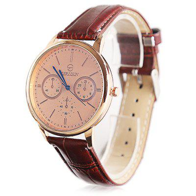 GERIDUN Men Round Dial PU Band Quartz WatchMens Watches<br>GERIDUN Men Round Dial PU Band Quartz Watch<br><br>Band material: PU<br>Band size: 24.5 x 2cm<br>Brand: GERIDUN<br>Case material: Steel<br>Clasp type: Pin buckle<br>Dial size: 3 x 3 x 0.7cm<br>Display type: Analog<br>Movement type: Quartz watch<br>Package Contents: 1 x Watch, 1 x Box<br>Package size (L x W x H): 8.00 x 7.50 x 5.50 cm / 3.15 x 2.95 x 2.17 inches<br>Package weight: 0.0900 kg<br>Product size (L x W x H): 24.50 x 3.00 x 0.70 cm / 9.65 x 1.18 x 0.28 inches<br>Product weight: 0.0400 kg<br>Shape of the dial: Round<br>Watch mirror: Acrylic<br>Watch style: Casual<br>Watches categories: Men