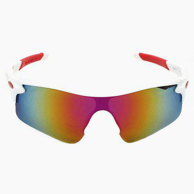 Buy WHITE CTSmart 9181 Outdoor Sports Cycling Glasses for $5.90 in GearBest store