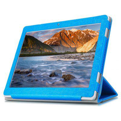 PU Tablet Case Tri-foldable función de pie para Cube iPlay 10