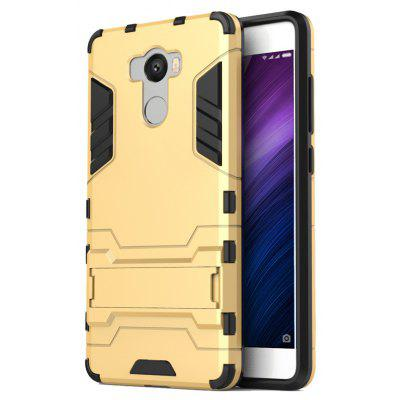 Luanke Two-in-one Protective Back Case with Stand Function for Xiaomi Redmi 4 Standard Version