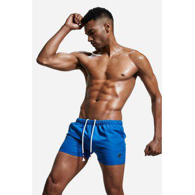 Male Casual Leisure Sports ShortsMens Underwear &amp; Pajamas<br>Male Casual Leisure Sports Shorts<br><br>Material: Polyester<br>Package Contents: 1 x Men Shorts<br>Package size: 20.00 x 20.00 x 2.00 cm / 7.87 x 7.87 x 0.79 inches<br>Package weight: 0.1400 kg<br>Product weight: 0.1000 kg