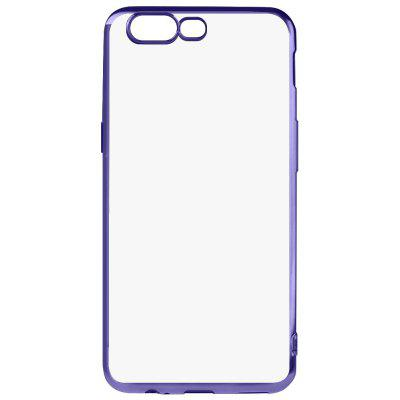 Buy BLUE Luanke Electroplating Edge TPU Phone Case for OnePlus 5 for $3.77 in GearBest store