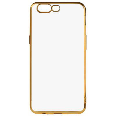 Buy GOLDEN Luanke Electroplating Edge TPU Phone Case for OnePlus 5 for $3.77 in GearBest store
