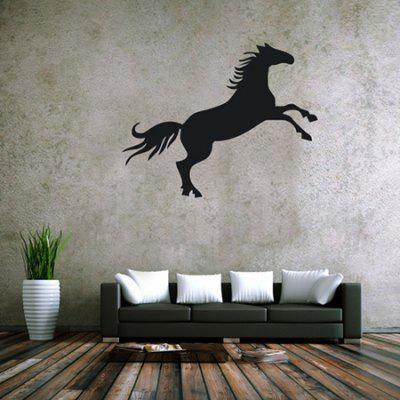 Creative Horse Design Wall StickerWall Stickers<br>Creative Horse Design Wall Sticker<br><br>Art Style: Plane Wall Stickers, Plane Wall Stickers<br>Functions: Decorative Wall Stickers, Decorative Wall Stickers<br>Hang In/Stick On: Bedrooms,Cafes,Living Rooms, Bedrooms,Cafes,Living Rooms<br>Material: Self-adhesive Plastic, Self-adhesive Plastic, Vinyl(PVC), Vinyl(PVC)<br>Package Contents: 1 x Sticker, 1 x Sticker<br>Package size (L x W x H): 45.00 x 5.00 x 5.00 cm / 17.72 x 1.97 x 1.97 inches, 45.00 x 5.00 x 5.00 cm / 17.72 x 1.97 x 1.97 inches<br>Package weight: 0.2200 kg, 0.2200 kg<br>Product size (L x W x H): 42.00 x 53.00 x 0.20 cm / 16.54 x 20.87 x 0.08 inches, 42.00 x 53.00 x 0.20 cm / 16.54 x 20.87 x 0.08 inches<br>Product weight: 0.1000 kg, 0.1000 kg<br>Subjects: Animal, Animal