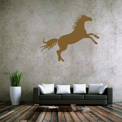 Buy BROWN Creative Horse Design Wall Sticker for $5.85 in GearBest store