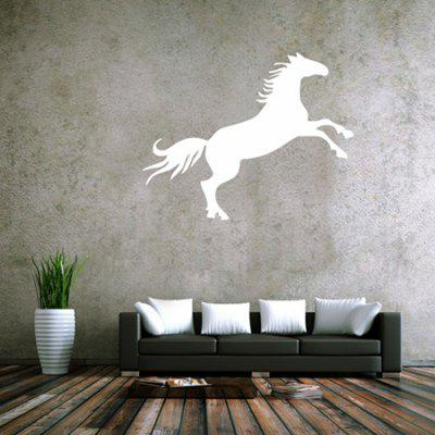 Buy WHITE Creative Horse Design Wall Sticker for $5.85 in GearBest store