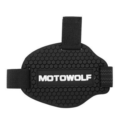 MOTOWOLF MDL1901 Shoes CoverMotorcycle Clothing<br>MOTOWOLF MDL1901 Shoes Cover<br><br>Accessories type: Safety Protector<br>Brand: MOTOWOLF<br>Gender: Universal<br>Material: Rubber, Diving fabrics<br>Package Contents: 1 x Shoes Protector Pad<br>Package size (L x W x H): 15.00 x 10.00 x 5.00 cm / 5.91 x 3.94 x 1.97 inches<br>Package weight: 0.0680 kg<br>Product size (L x W x H): 40.00 x 8.20 x 0.02 cm / 15.75 x 3.23 x 0.01 inches<br>Product weight: 0.0480 kg<br>Size: One Size Fits All<br>Type: Shoes Protector Pad