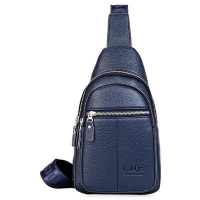 Buy BLUE Leisure Durable Men Chest Bag for $19.64 in GearBest store