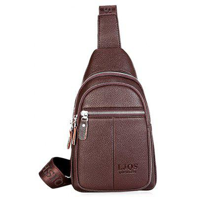 Buy BROWN Leisure Durable Men Chest Bag for $19.64 in GearBest store