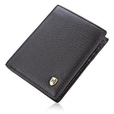 Banlear Business Men Bifold WalletWallets<br>Banlear Business Men Bifold Wallet<br><br>Brand: Banlear<br>Features: Moistureproof<br>For: Daily Use<br>Gender: Men<br>Material: Genuine Leather<br>Package Size(L x W x H): 10.50 x 12.50 x 2.00 cm / 4.13 x 4.92 x 0.79 inches<br>Package weight: 0.0900 kg<br>Packing List: 1 x Wallet<br>Product Size(L x W x H): 9.50 x 11.50 x 1.00 cm / 3.74 x 4.53 x 0.39 inches<br>Product weight: 0.0630 kg<br>Style: Business<br>Type: Bi-fold