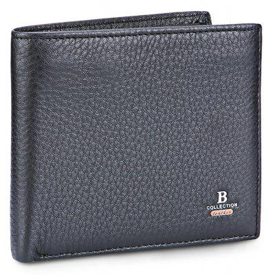 Buy BLACK Banlear Classical Bifold Men Wallet for $10.59 in GearBest store
