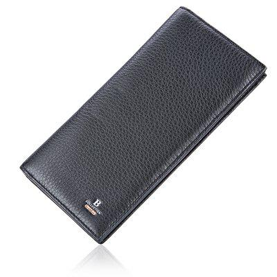 Banlear Classical Bifold Men WalletWallets<br>Banlear Classical Bifold Men Wallet<br><br>Brand: Banlear<br>Features: Moistureproof<br>For: Daily Use<br>Gender: Men<br>Material: Genuine Leather<br>Package Size(L x W x H): 10.50 x 19.50 x 3.00 cm / 4.13 x 7.68 x 1.18 inches<br>Package weight: 0.1200 kg<br>Packing List: 1 x Wallet<br>Product Size(L x W x H): 9.50 x 18.50 x 2.00 cm / 3.74 x 7.28 x 0.79 inches<br>Product weight: 0.1050 kg<br>Style: Fashion<br>Type: Bi-fold