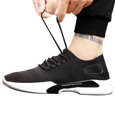 Male Breathable Wearable Mesh Running SneakersMen's Sneakers<br>Male Breathable Wearable Mesh Running Sneakers<br><br>Closure Type: Lace-Up, Lace-Up<br>Contents: 1 x Pair of Shoes, 1 x Pair of Shoes<br>Decoration: Weave, Weave<br>Function: Slip Resistant, Slip Resistant<br>Materials: PU, Woven Fabric, Mesh, Rubber<br>Occasion: Sports, Running, Outdoor Clothing, Daily, Casual<br>Outsole Material: Rubber, Rubber<br>Package Size ( L x W x H ): 25.00 x 18.00 x 11.00 cm / 9.84 x 7.09 x 4.33 inches, 25.00 x 18.00 x 11.00 cm / 9.84 x 7.09 x 4.33 inches<br>Package Weights: 0.68kg, 0.68kg<br>Pattern Type: Solid<br>Seasons: Autumn,Spring,Summer<br>Style: Leisure, Fashion, Comfortable, Modern, Leisure, Fashion, Comfortable, Casual, Modern<br>Toe Shape: Round Toe, Round Toe<br>Type: Sports Shoes<br>Upper Material: Mesh,PU, Mesh,PU