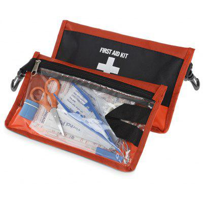 2PCS Portable 12 in 1 Emergency First Aid Kit Medical Bag
