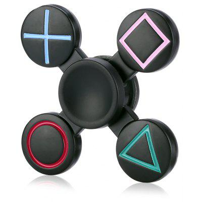 Geometric Cross Alloy ADHD EDC Fidget Spinner