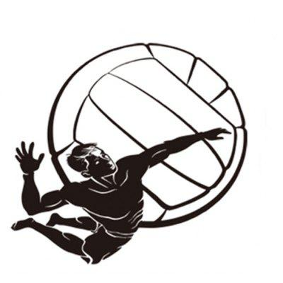3D Playing Basketball Wall Sticker Home Decoration