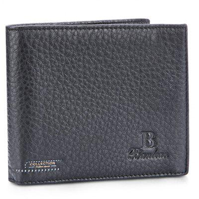 Buy BLACK Banlear Practical Portable Men Wallet for $11.25 in GearBest store