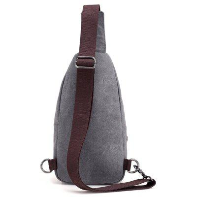 Men Leisure Canvas Chest BagCrossbody Bags<br>Men Leisure Canvas Chest Bag<br><br>Features: Wearable<br>Gender: Men<br>Material: Canvas<br>Package Size(L x W x H): 35.00 x 28.00 x 5.00 cm / 13.78 x 11.02 x 1.97 inches<br>Package weight: 0.3500 kg<br>Packing List: 1 x Chest Bag<br>Product weight: 0.3100 kg<br>Style: Fashion, Casual<br>Type: Shoulder bag