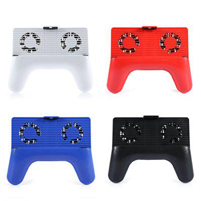 Universal Mobile Phone Radiator Gamepad ClampGame Accessories<br>Universal Mobile Phone Radiator Gamepad Clamp<br><br>Game Accessories Type: Others<br>Package Contents: 1 x Mobile Phone Radiator, 1 x Cable, 1 x English Instruction<br>Package size: 12.00 x 12.00 x 9.00 cm / 4.72 x 4.72 x 3.54 inches<br>Package weight: 0.2500 kg<br>Product size: 11.50 x 11.30 x 8.00 cm / 4.53 x 4.45 x 3.15 inches<br>Product weight: 0.1580 kg